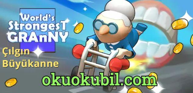 Strong Granny v2.9 Çılgın Büyükanne Win Robux for Roblox platform Hız Hileli Apk