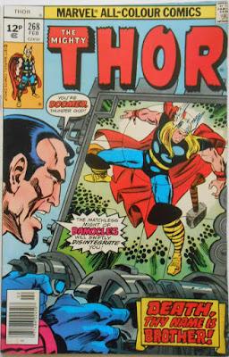 Thor #268, Damocles