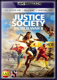 Justice Society: World War II (2021) 4K UHD HDR LATINO/INGLES