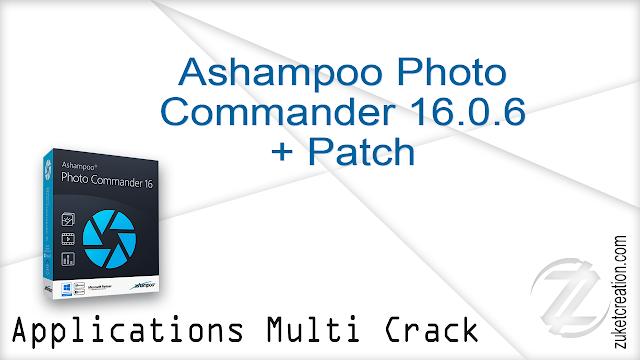 Ashampoo Photo Commander 16.0.6 + Patch  |  377 MB