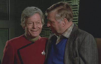 Admiral McCoy wardrobe/makeup test for Star Trek: The Next Generation pilot