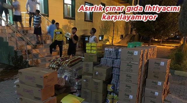 Büyükşehir'den Urfaspor'a gıda yardımı