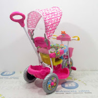 royal ry1082cj jok kain kanopi baby tricycle