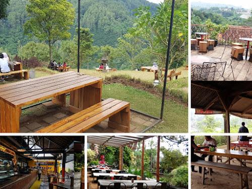 Cafe favorit wisatawan di Dago Pakar