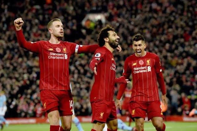 نتيجة مباراة ليفربول وبورنموث اليوم 7/12/2019 الدوري الانجليزي وهدف محمد صلاح