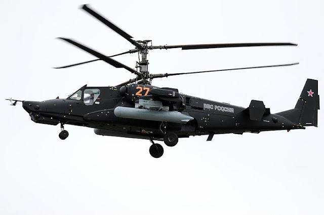 Gambar 06. Foto Helikopter Tempur Kamov Ka-50 Black Shark