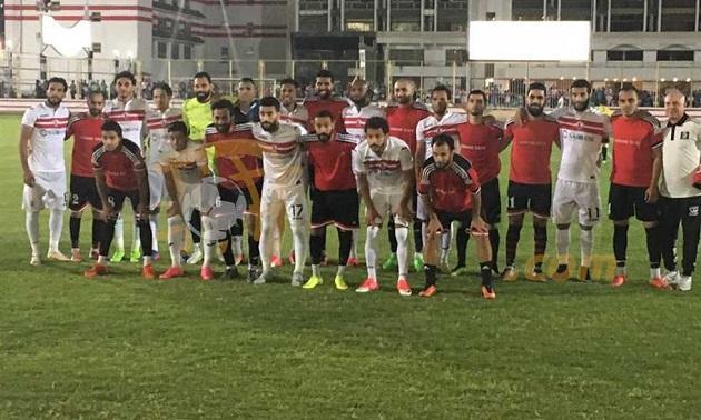 الزمالك ينتصر وديًا على فريق أكاديمية مصر بنتيجة 5-0