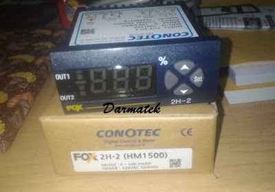 Jual Conotec Fox 2H-2 (HM1500) Humidity Controller