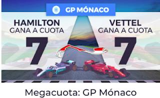 Paston Megacuota para la Fórmula 1: GP de Mónaco 27 mayo