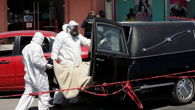 México acumula 113.619 casos confirmados de coronavirus y supera los 13.500 decesos