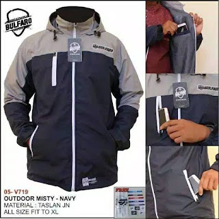 Jaket Outdoor New Bulfaro Misty Navy