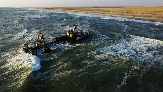 Skeleton Coast shipwreck Namibia