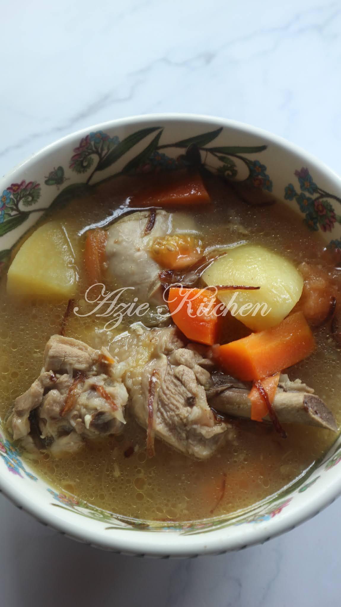Sup Ayam Kampung : kampung, Kampung, Sedap, Kitchen