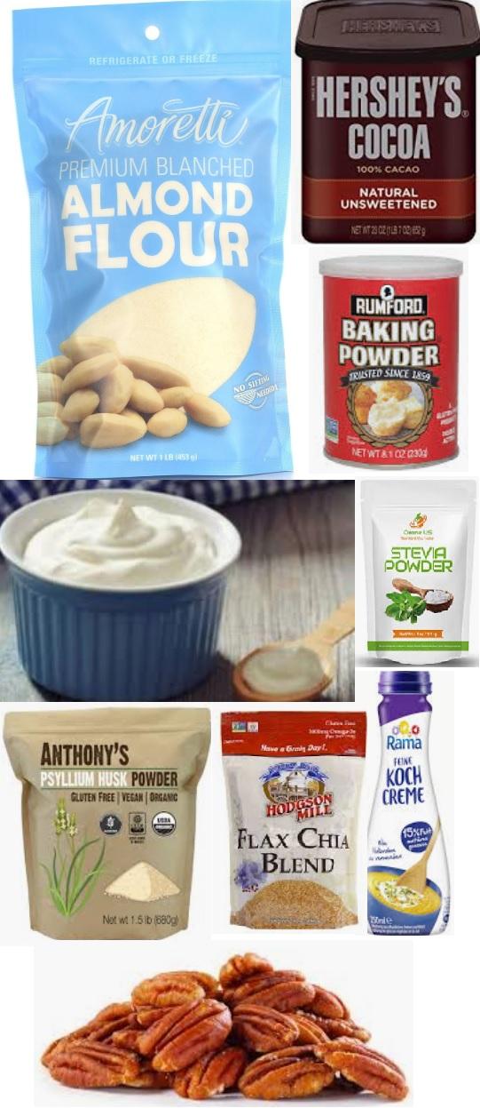 Keto Baking: Chocolate cheezecake