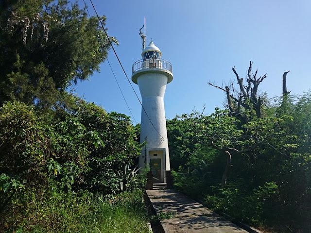 伊計島灯台の写真