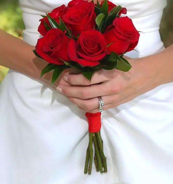 مسكات عروس ورد طبيعي
