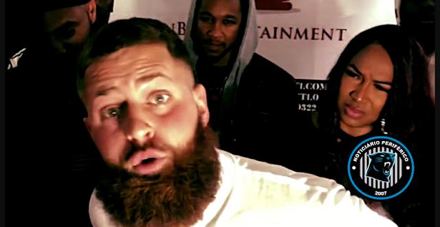 Rapper branco leva soco por usar a palavra Nig*a em batalha de rap