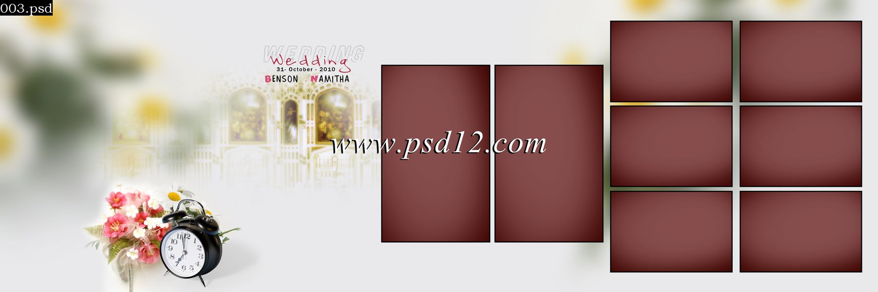 48 Karizma Photo Album PSD Template Size 12x36 - 11