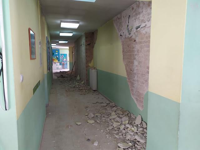 Πρέβεζα: Σε Εξέλιξη Οι Επισκευές Των Σχολείων Στην Πάργα Που Είχαν Υποστεί Ζημιές Από Τον Σεισμό