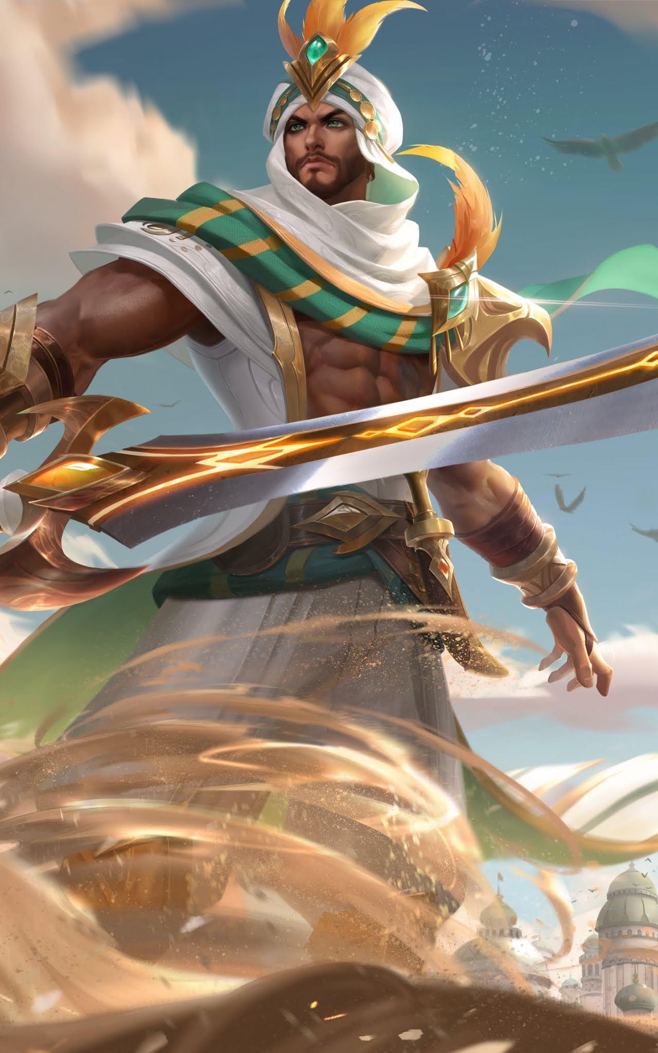 Khaleed wallpaper mobile legends