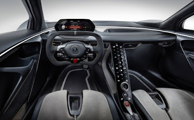 Interior Lotus Evija