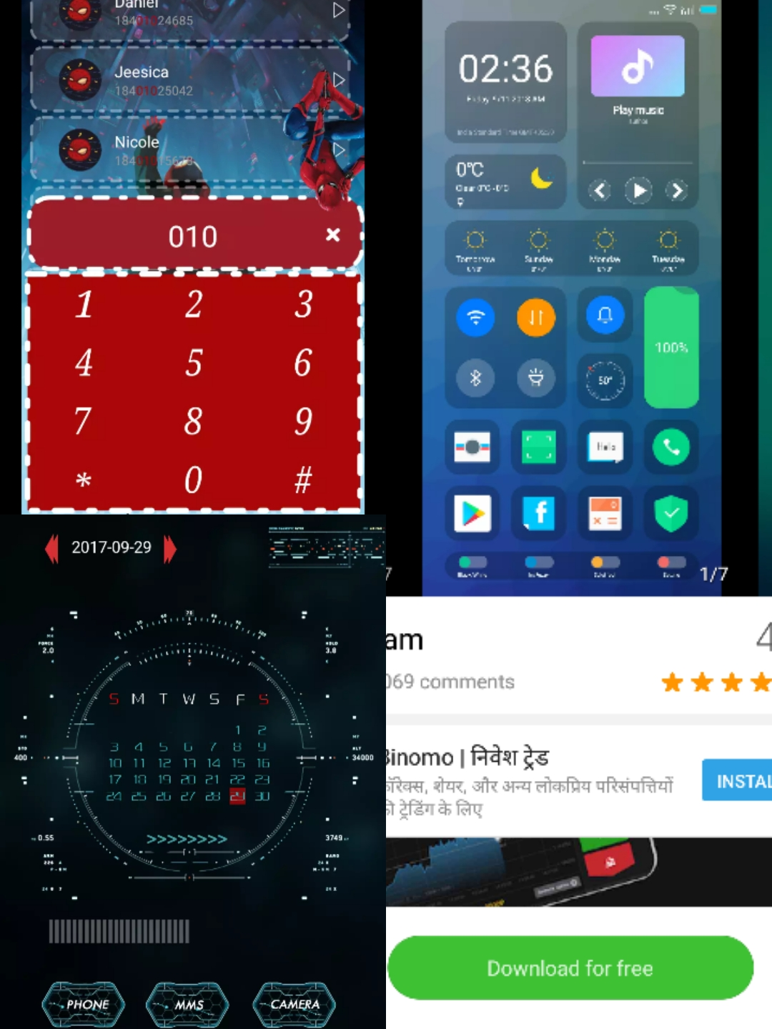 Best Top Picked MIUI Themes From MI Online Themes![Android P