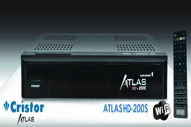 CRISTOR ATLAS HD 200S LISTA DE CANAIS - 07/10/2016