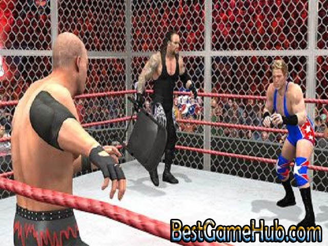 WWE RAW 2007 Compressed PC Game With Crack Download