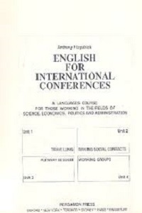 Tiếng Anh Cho Hội Nghị Quốc Tế - English For International Conferences - Anthony Fitzpatrick