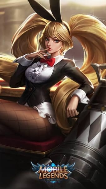 Wallpaper Layla Bunny Babe Skin Mobile Legends for Android and iOS