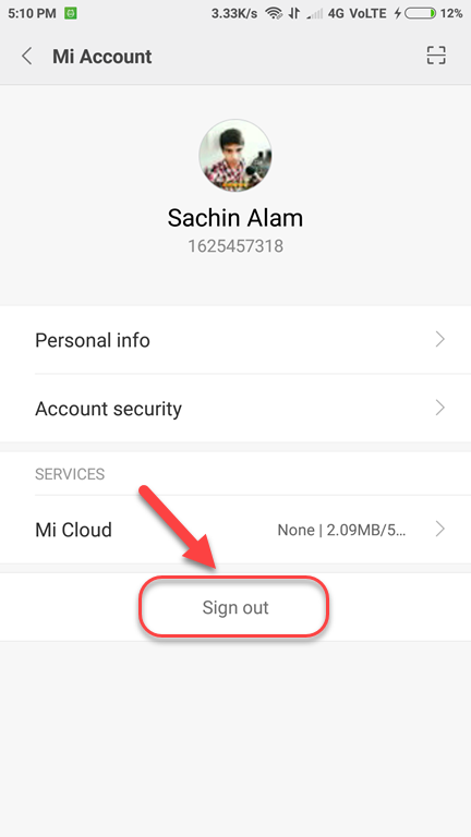 Cara Menghapus Akun Mi Cloud Xiaomi Dengan Mudah