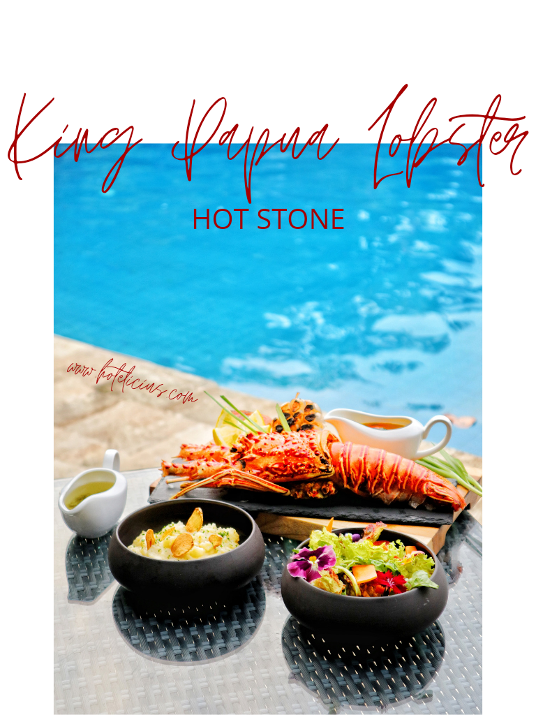 King Papua Lobster Hot Stone