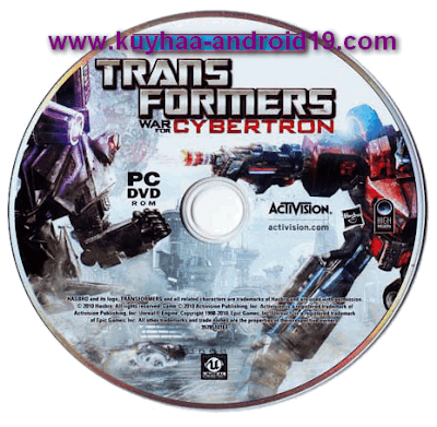 TRANSFORMERS WAR FOR CYBERTON GAME FOR PC