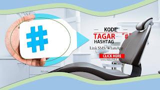 Kode Tagar Atau Hashtag (#) Untuk SMS dan WhatsApp Link Dari Web
