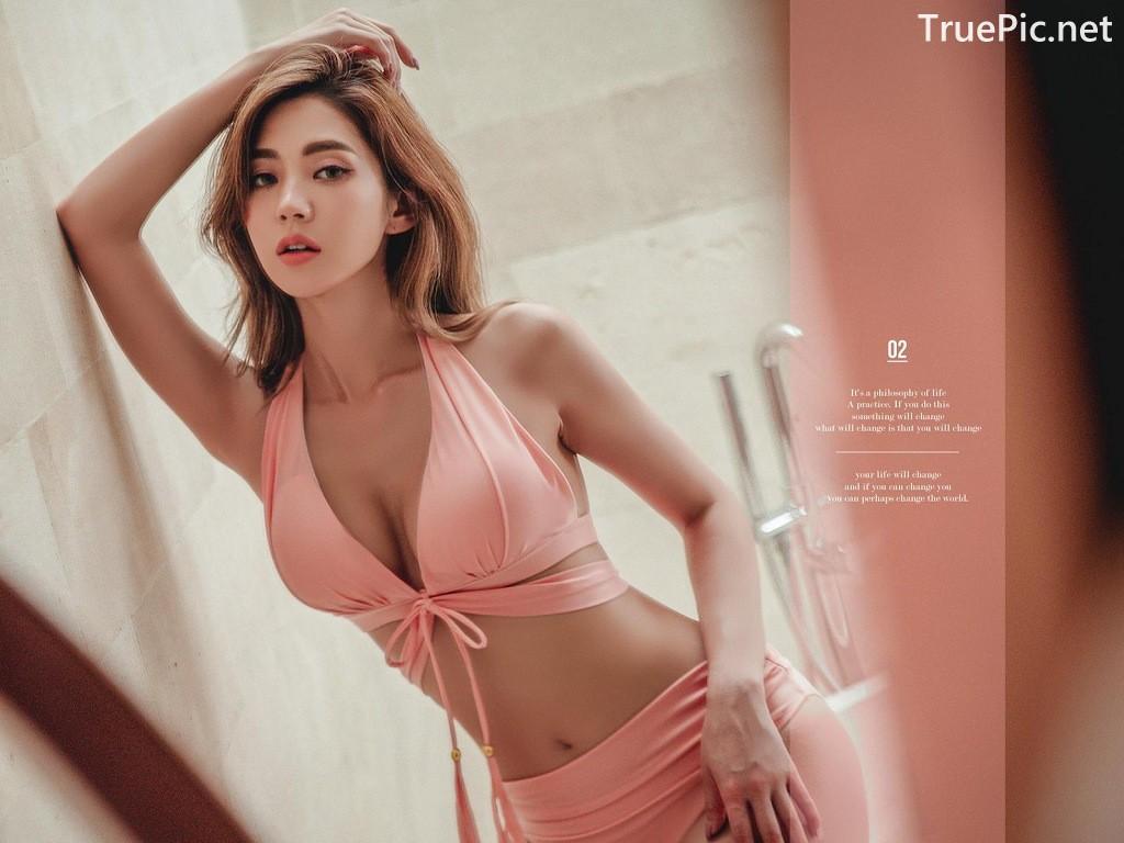 Image Lee Chae Eun - Bucket Pink Bikini - Korean Fashion Model - TruePic.net - Picture-3