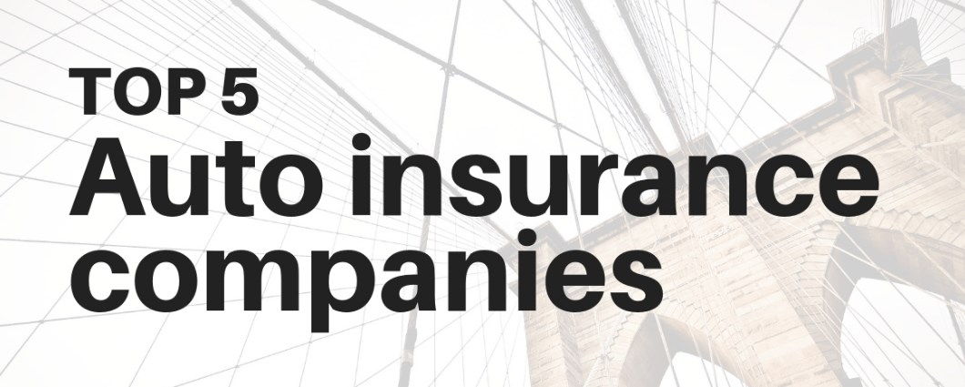 The Big 5 Auto Insurance Companies in Massachusetts