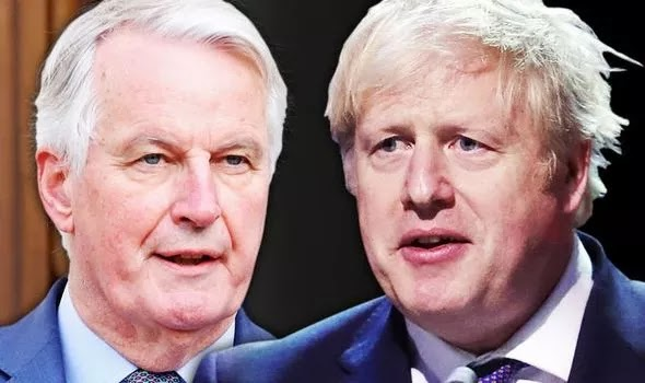 'Imperialistic EU' Boris Johnson's official reminds Barnier Northern Ireland is part of UK