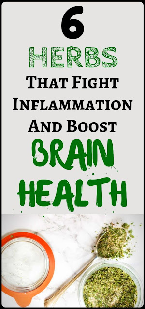 These Six Herbs Can Help You Reverse Inflammation, Boost Brain Health And More