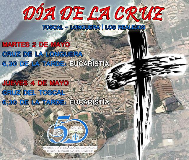 Resultado de imagen de dia de la cruz en la longuera. Los realejos