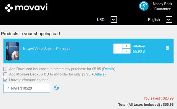 Movavi Video Suite Coupon Best Discount