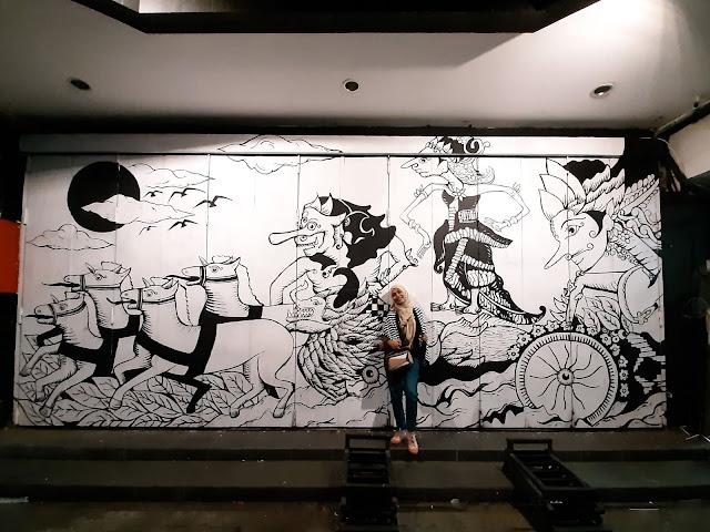 Wisata malam Solo, Menikmati mural street dan keroncong night - jurnaland.com
