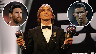Luka Modric wins 2018-2019 balloon d'Or