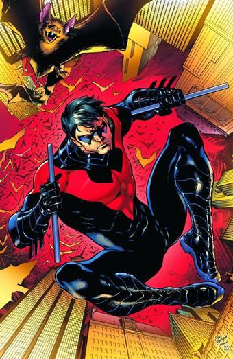 Dick Grayson es miembro de la Bat-Familia como Nightwing