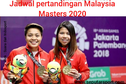 Jadwal Pertandingan Malaysia Masters 2020, Gresyia Polli/Apriyani Rahayu melawan wakil tuan rumah