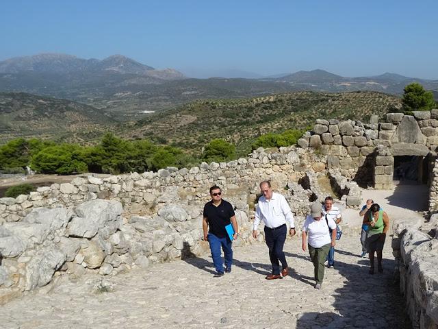 Εγκρίθηκε η δημοπράτηση του συστήματος πυρόσβεσης στον αρχαιολογικό χώρο των Μυκηνών