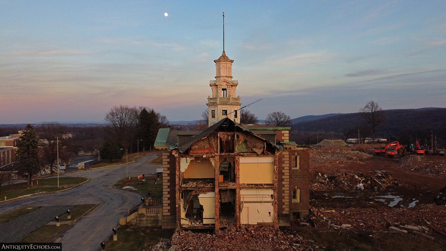 Allentown State Hospital - Demolition - Torn Apart