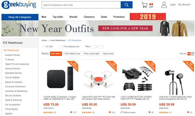 Cómo comprar en GeekBuying con las mejores condiciones