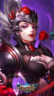 Freya Dark Rose Heroes Fighter of Skins Old