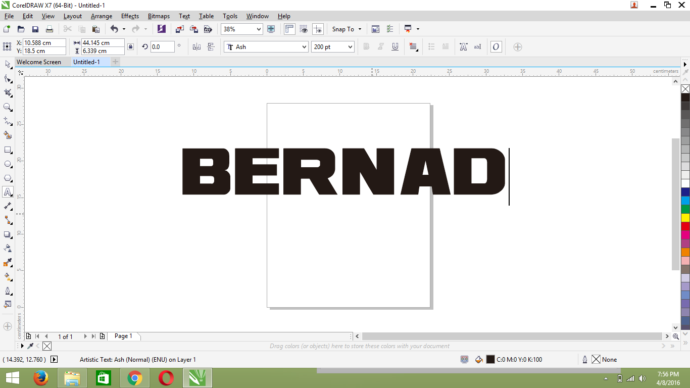 how to import fonts into corel draw x7