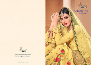 Shree fab Shehnai Exclusive Pakistani Suits